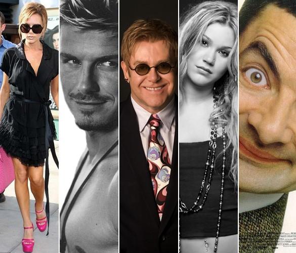 Entre os convidados famosos, apenas as celebridades mais próximas